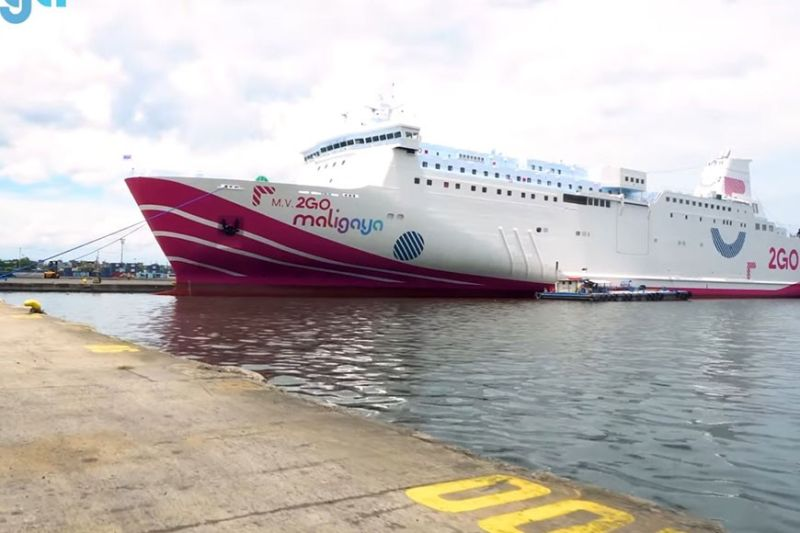 FASTEST. About the height of a 10-story building, mv 2GO Maligaya will be part of 2GO's fleet of 10 roro-passenger and freighter vessels, sailing to 20 major ports of call, linking Manila to the Visayas and Mindanao. / 2GO
