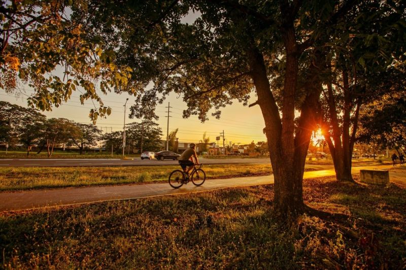 Any time of the day, this Freeport is being frequented by bikers due to the availability of bike paths and bike trails. More biking enthusiasts are expected to visit Clark after the construction of Bike-friendly facilities this year. (Contributed photo)
