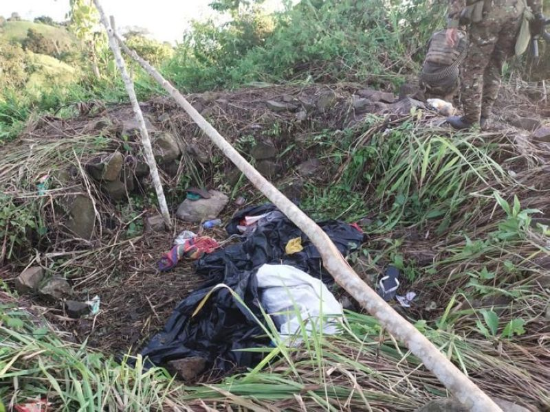 ZAMBOANGA. Two members of the Bangsamoro Islamic Freedom Fighters (BIFF) die in a clash Sunday, May 16, with government forces in Datu Paglas, Maguindanao. A photo handout shows some of the personal belongings of the BIFF the troops recovered at the clash site. (SunStar Zamboanga)