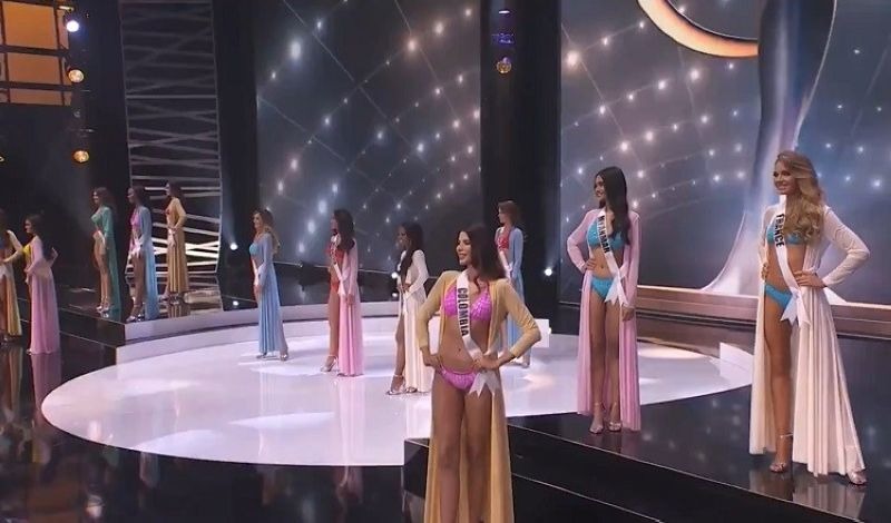 Screenshot courtesy of Miss Universe Organization