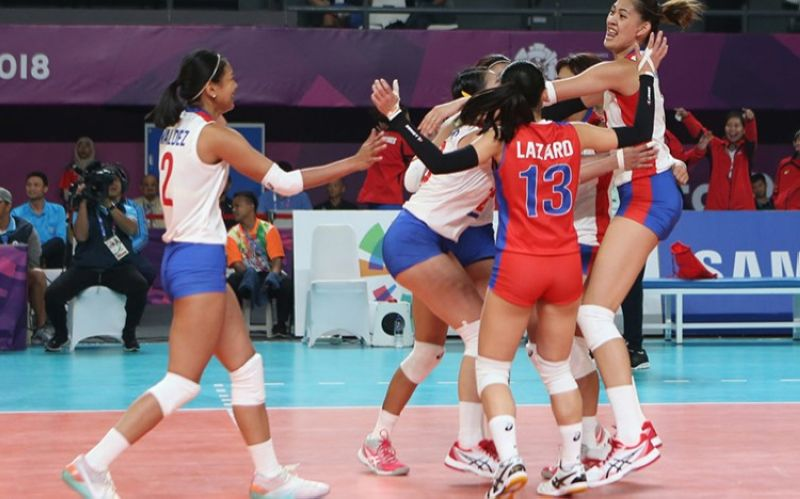 The Philippine women's national volleyball squad will have homecourt advantage as the country will be hosting the Asian Senior Women's Championship. (POC)