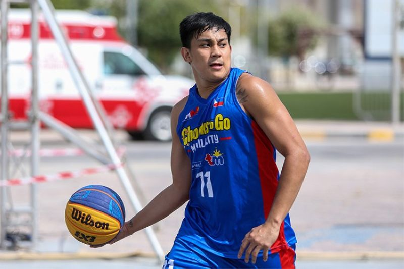 MANILA. Cebuano basketball star Macmac Tallo will be playing for the Bicol Volcanoes in the MPBL Mumbaki later this year. (Chooks-to-Go)