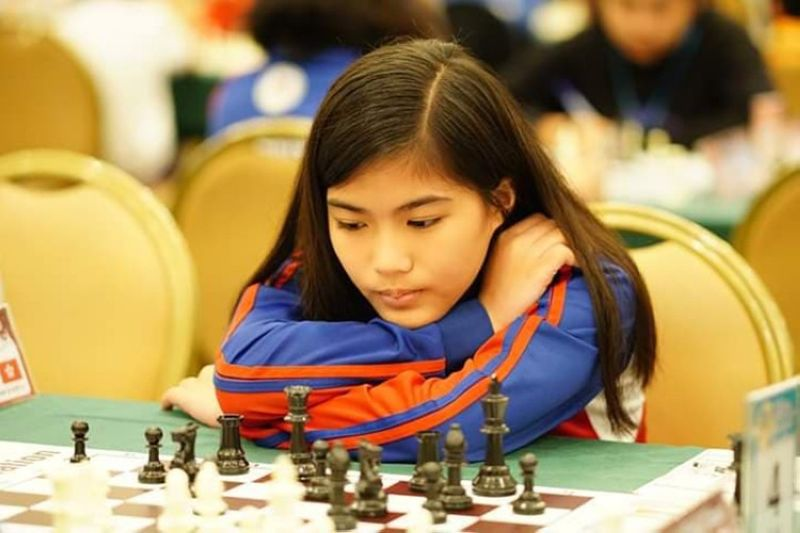NATIONAL YOUTH CHESS SEMIS CHAMP. Samantha Umayan of Davao City captures the girls under-15 champion of the recently-concluded online National Youth & Schools Chess Championship. (Contributed photo)