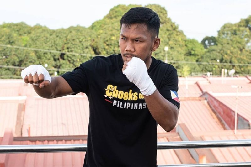 MANILA. Eumir Marcial's bid for Olympic glory got a huge shot in the arm with Chooks-to-Go pledging its support. (Chooks-to-Go)