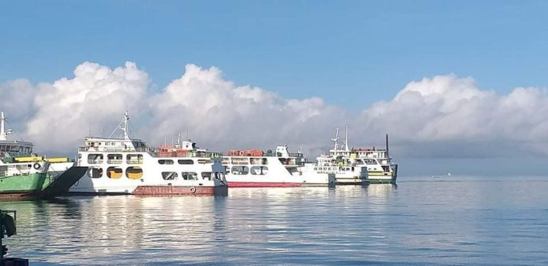 BACOLOD. Starting Tuesday, May 25, sea vessel trips between the Cities of Bacolod and Iloilo are temporarily suspended until May 31, 2021, following the escalation of the latter's community quarantine status to modified enhanced community quarantine. (Photo by Erwin P. Nicavera)