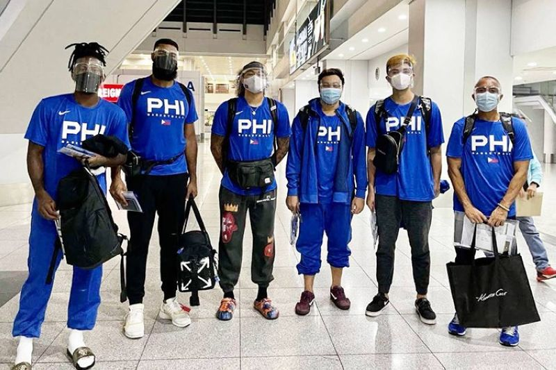 The Smart Gilas Pilipinas 3x3 flew to Graz, Austria late Sunday night to compete for a ticket to the Tokyo Olympics in the FIBA 3x3 Olympic Qualifying Tournament.  (SBP)
