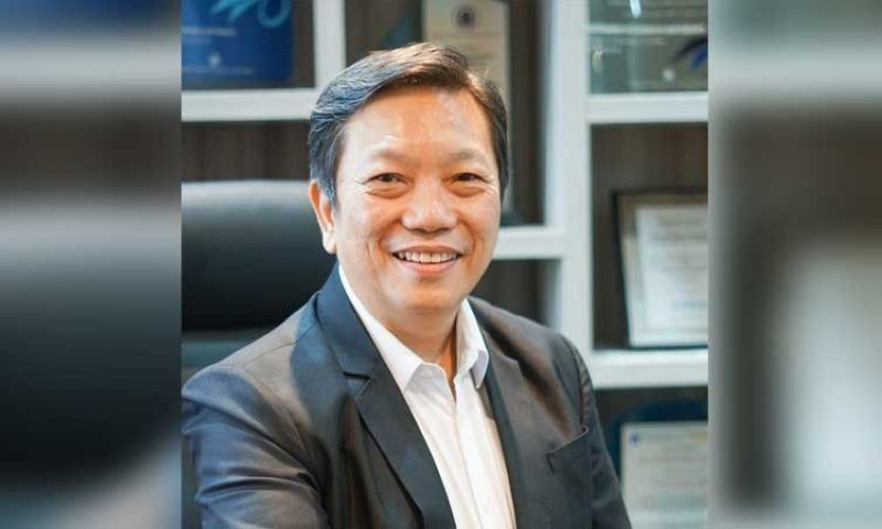 Cebu Chamber of Commerce and Industry president Felix Taguiam (File photo)