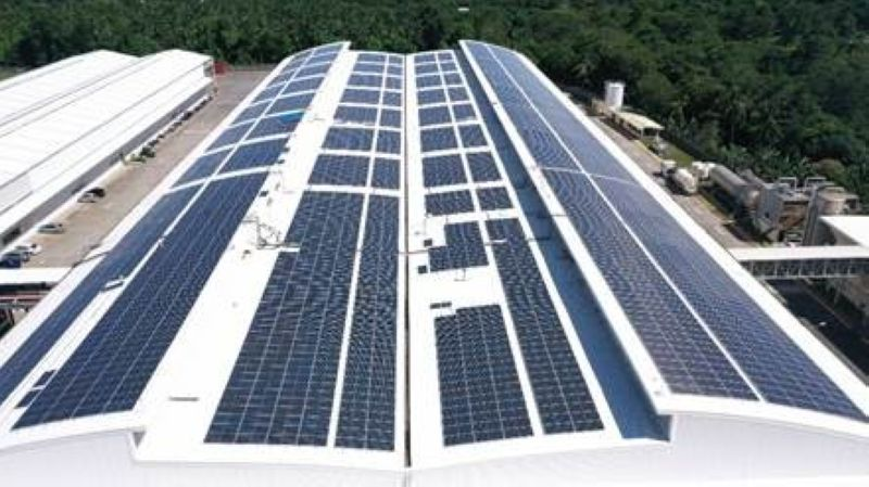 ENERGY SAVER. In March 2021, close to 4,000 solar panels have been successfully installed at Coca-Cola's Davao del Sur plant in partnership with Team Energy, allowing for annual savings on energy cost and improvements in power quality and system loss reduction. / COCA-COLA PH