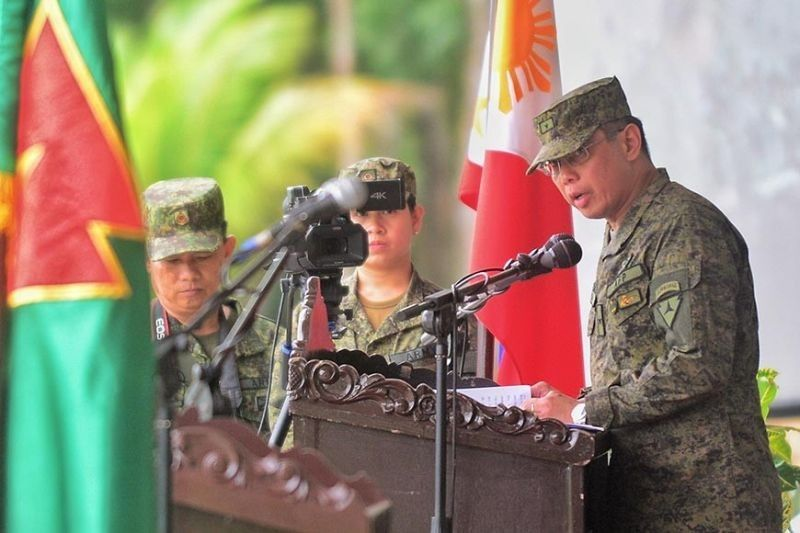 HIMAMAYLAN. Major General Eric Vinoya, the commander of the 3rd Infantry (Spearhead) Division. (File photo)