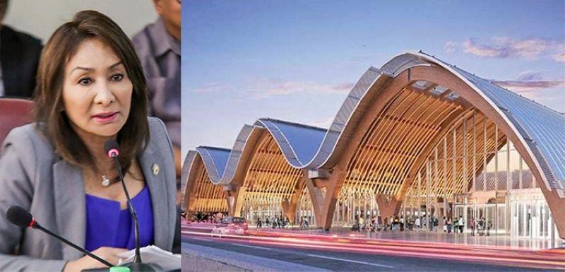 Cebu Governor Gwendolyn Garcia and the Mactan Cebu International Airport (SunStar File)