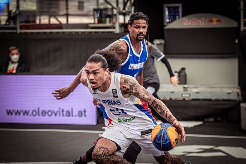 AUSTRIA. Joshua Munzon and the rest of the Gilas Pilipinas 3x3 faltered yet again in the FIBA 3x3 Olympic Qualifying Tournament.  (FIBA)