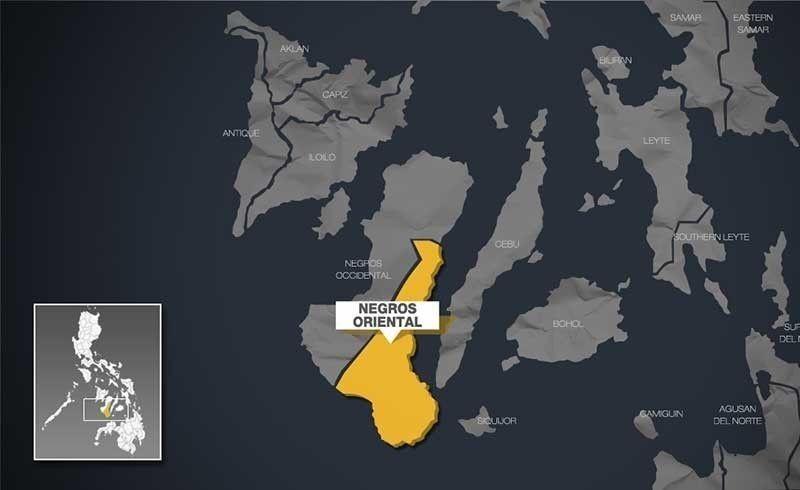 Negros Oriental map.