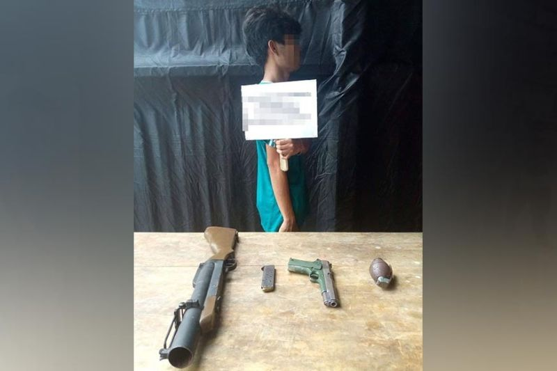 ZAMBOANGA. The number of Abu Sayyaf surrenderers since January in Basilan province climbed to 19, as another bandit has surrenders Thursday, May 27, amid the continuous military operation against them in that province. A photo handout shows the mugshot of Abu Ajid, 22, who yielded to the troops of the 4th Special Forces Battalion. (SunStar Zamboanga)