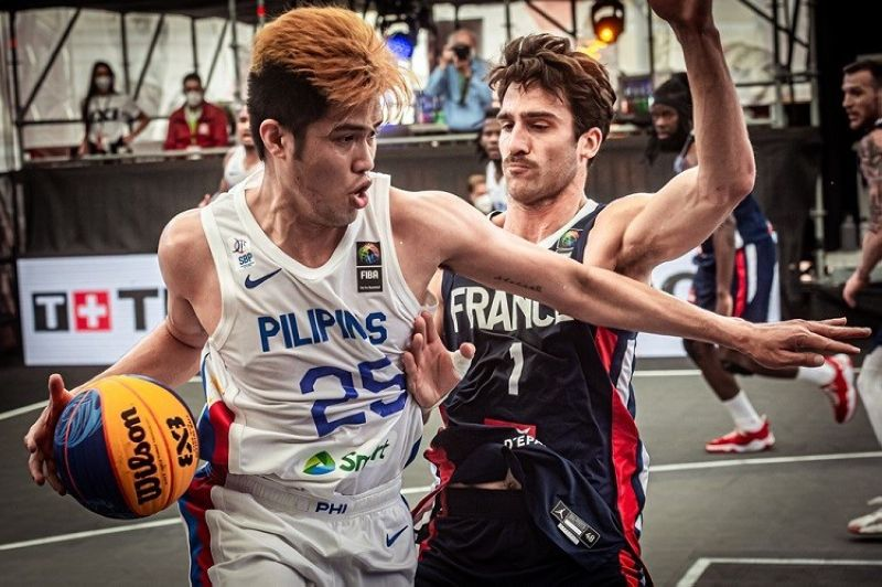 MANILA. The SBP is taking steps to improve its 3x3 basketball program in the wake of the Gilas' winless stint during the FIBA Olympic Qualifying Tournament last week in Graz, Austria. (FIBA)