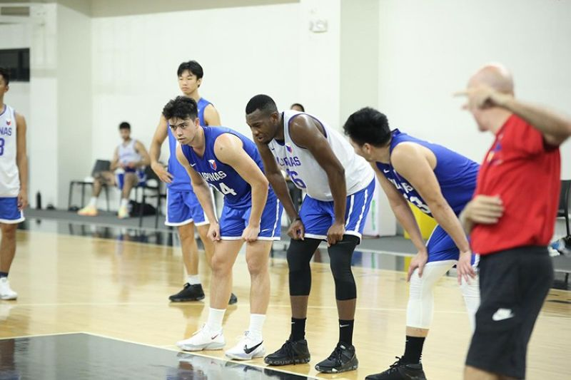 The Gilas Pilipinas will be taking on South Korea twice and Indonesia once in the FIBA Asia Cup qualifiers next week. (Inspire Sports Academy)