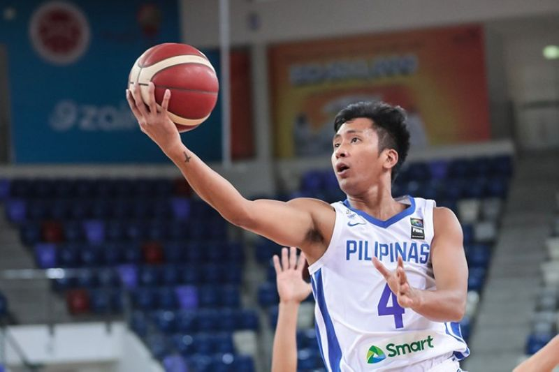 Former Cesafi MVP Rey Suerte suffered an ankle injury during training, putting his availability for the third window of the FIBA Asia Cup qualifiers in Clark, Pampanga, in peril. (Smart Sports)