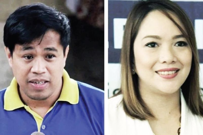 WAR OF WORDS. Cebu City Councilor Alvin Dizon (left) of the opposition party Bando-Osmeña Pundok Kauswagan and City Councilor Niña Mabatid (right) of the ruling party Barug PDP-Laban exchange sharp words over the issue of job order (JO) employees. During the June 4, 2021 budget hearing, Dizon suggested that department heads maximize the availability of regular and casual employees. Mabatid hit back at Dizon on her Facebook page, telling him that the opposition must not touch the JO workers in the City Hall.  (SunStar file)