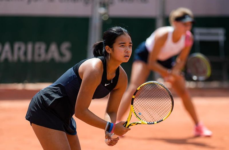 Filipina tennis star Alex Eala and her Russian teammate, Oksana Selekhmeteva, have advanced to the semifinals of the French Open girls' doubles tournament. (Alex Eala Facebook page)