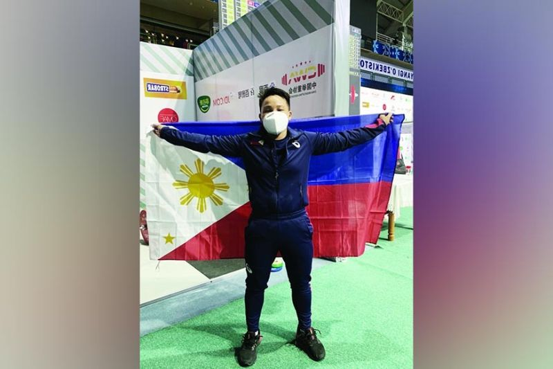 CEBU'S PRIDE. Weightlifter Elreen Ando will compete in the world's biggest sporting stage—the Olympics, which is set on July 23 to Aug. 8, 2021 in Tokyo, Japan. / Elreen Ando's Facebook page