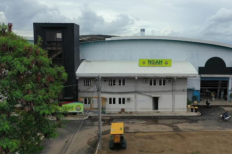 NEW PURPOSE. The Noah complex at the South Road Properties is inaugurated on Saturday, June 12, 2021, as Cebu City's newest vaccination site. The facility used to be the City's largest Covid-19 quarantine facility. (SunStar file)