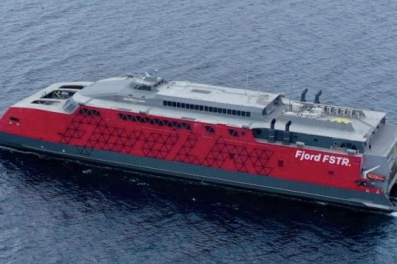 HUB. Fjord Line's FSTR (Austal Hull 419) is a 10-meter high-speed vehicle-passenger ferry designed by Austal Australia and constructed by Austal Philippines. The Department of Tourism 7 is pushing for Cebu to be known as the country's maritime hub. / AUSTAL PH