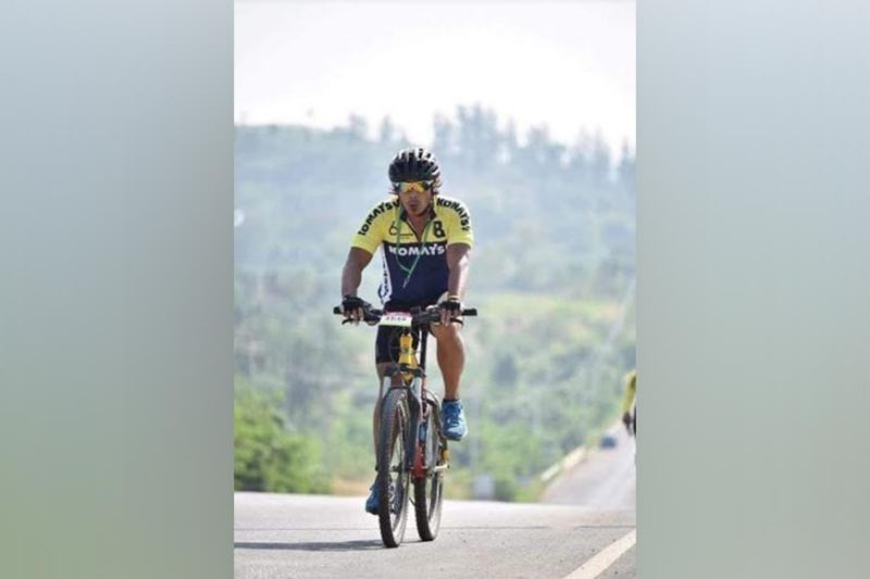 BACOLOD. Orville Ong, a seasoned cyclist shares the benefits of wearing proper biking get-ups. (Contributed photo)