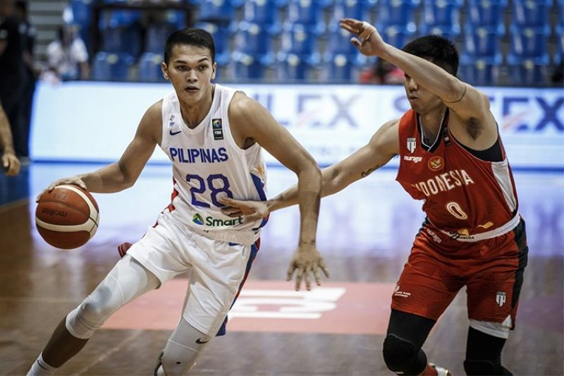 PAMPANGA. Justine Baltazar showed his versatility as he filled up the stat sheet versus Indonesia. (FIBA)