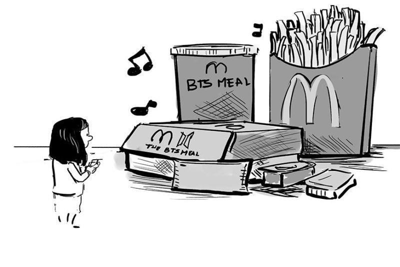 Sunday Essay Cartoon by Enrico Santisas