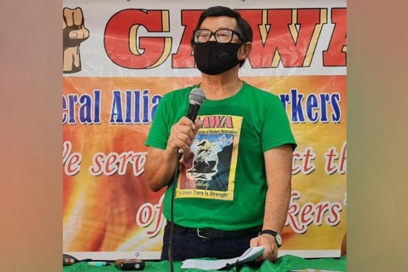 NEGROS. General Alliance of Workers Associations Secretary General Wennie Sancho. (Erwin P. Nicavera photo)