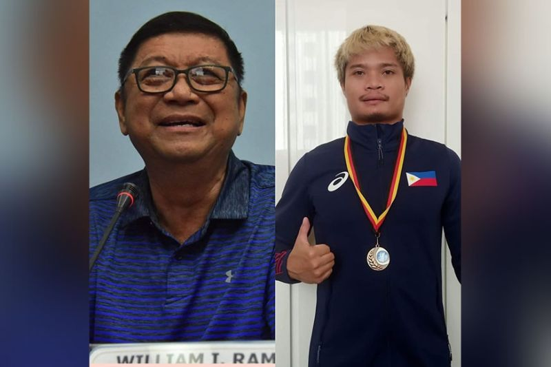 PSC CHIEF ALL PRAISE FOR GAWILAN. Philippine Sports Commissioner (PSC) Chairman William