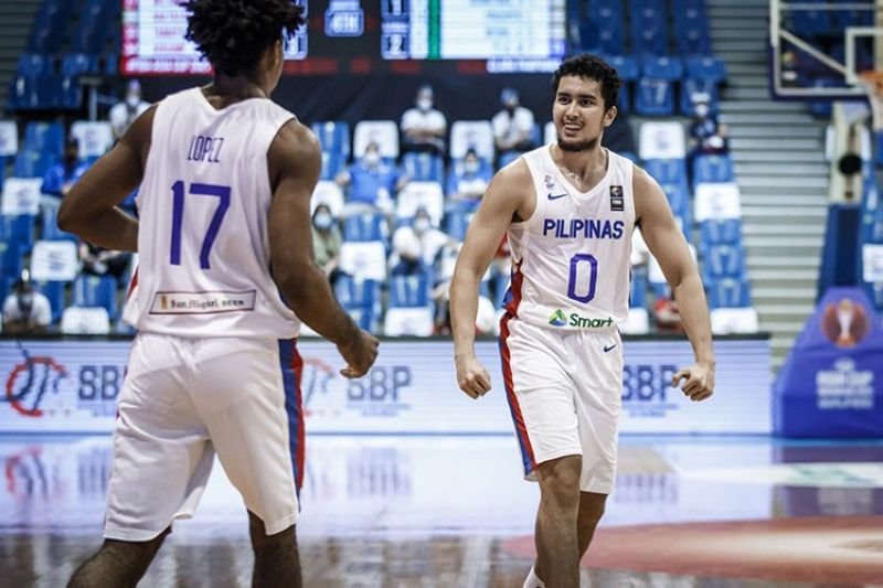 Javi Gomez de Liaño has been cut from the Gilas Pilipinas pool for the upcoming Olympic Qualifying Tournament in Belgrade, Serbia.  (FIBA)
