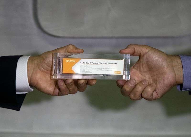 DOH 7 receives new batch of Sinovac Covid-19 vax. (File photo)