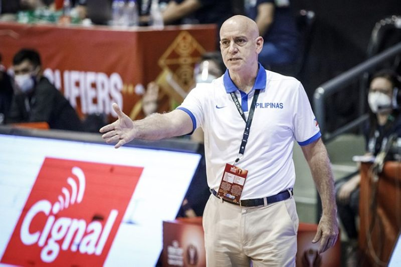 Gilas Pilipinas head coach Tab Baldwin said there were a lot of positives that they could take from the 79-all draw that they forged in their tune-up game versus China on Wednesday evening. (FIBA)