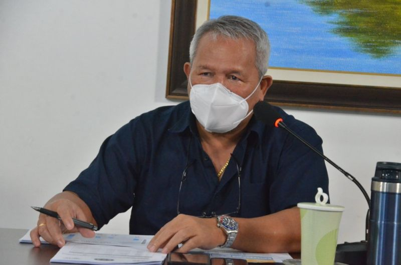 CAGAYAN DEO ORO. City Mayor Oscar Moreno on Wednesday, June 30, confirmed that the Northern Mindanao Medical Center (NMMC) downgraded its alert status from code red to code yellow. (Photo from City Information Office)