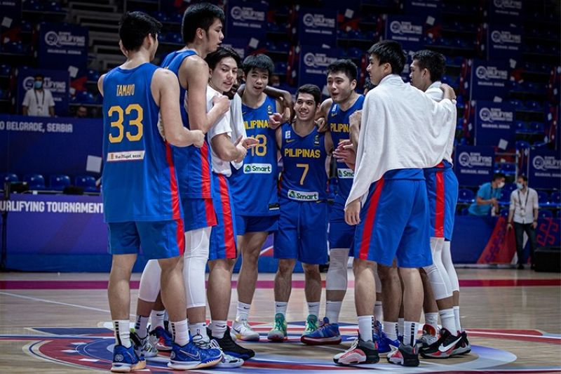 MANILA. The young Gilas Pilipinas squad will take home valuable lessons from the OQT, says head coach Tab Baldwin. (FIBA)