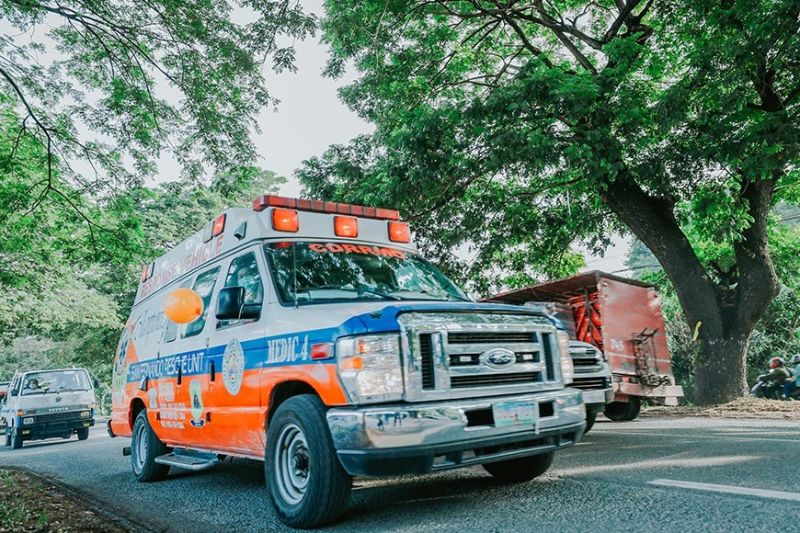 RESPONDERS TAKE THE ROAD. Response vehicles are on the move for any emergency or disaster-related incidents 24/7. (City of San Fernando Information Office)