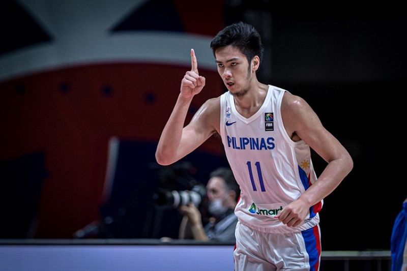 Filipino 7-foot-3 center Kai Sotto vowed that Gilas will be better in the tournaments to come. (FIBA)