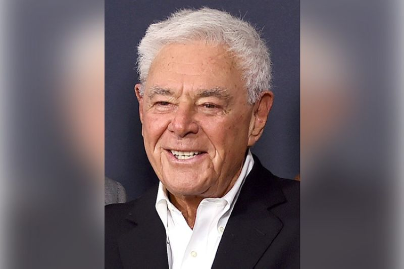 """Richard Donner arrives at a tribute event in his honor on June 7, 2017, in Beverly Hills, Calif. The filmmaker, who helped create the modern superhero blockbuster with 1978's """"Superman"""" and mastered the buddy comedy with the """"Lethal Weapon"""" franchise, has died. He was 91. Lauren Shuler Donner, his wife and producing partner, told the Hollywood trade"""