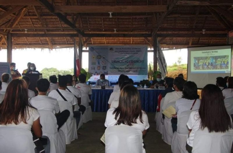 NEGROS. The Poverty Reduction, Livelihood and Employment Cluster in Negros Occidental launches the Caduha-an Agri-Tourism and Livelihood Development Project in Cadiz City earlier this week. (Contributed Photo)