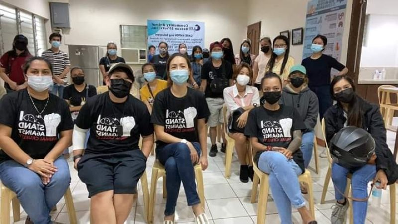 NEGROS. Care launches first ever Barangay Awareness Campaign on Animal Welfare and Responsible Pet Ownership on July 10, 2021. (Contributed photo)