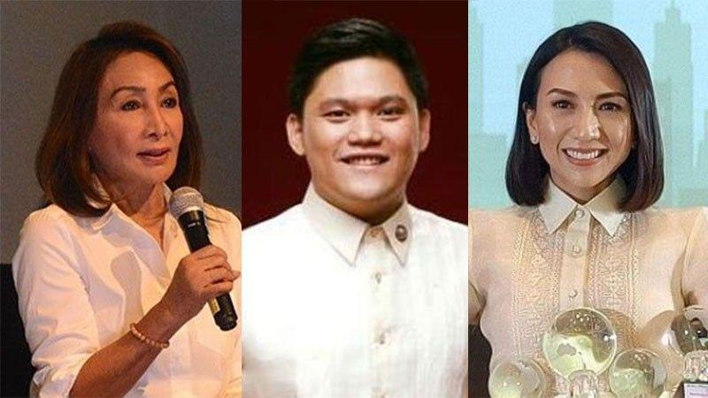 """CEBU. (From left) Cebu Governor Gwendolyn Garcia, Talisay City Mayor Gerald Anthony """"Samsam"""" Gullas and Liloan Mayor Christina Garcia-Frasco. (SunStar File)"""