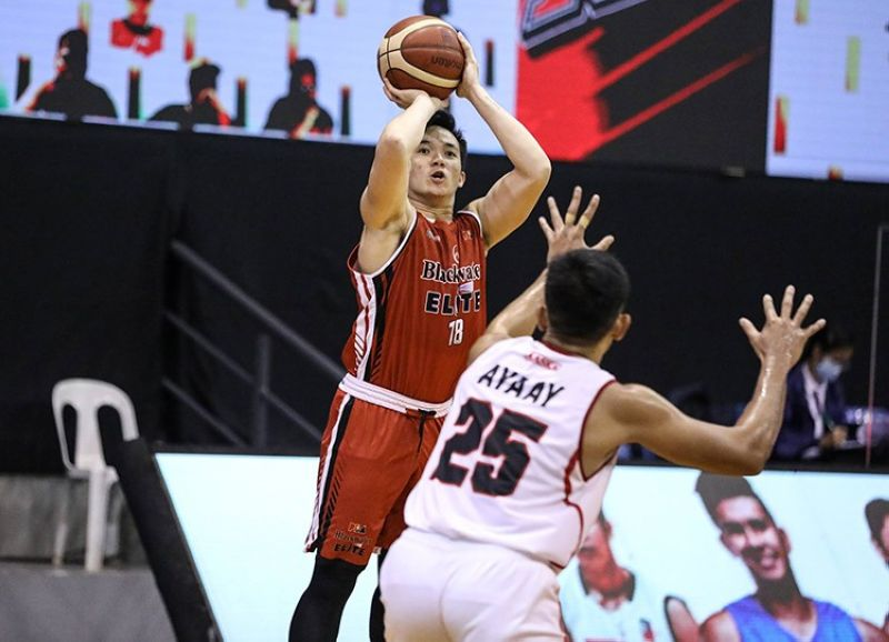 MANILA. Cebuano wingman Paul Desiderio and the rest of the Blackwater Bossings will take on the Alaska Aces in the opening game of 2021 PBA Philippine Cup. (PBA) MANILA.Cebuano wingman Paul Desiderio and the rest of the Blackwater Bossings will take on the Alaska Aces in the opening game of 2021 PBA Philippine Cup. (PBA)