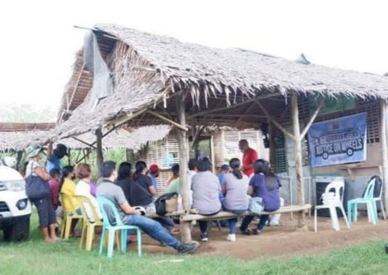 NEGROS. The Department of Agrarian Reform conducts series of Agrarian Reform Justice on Wheels sessions in the northern portion of Negros Occidental recently. (Contributed Photo)