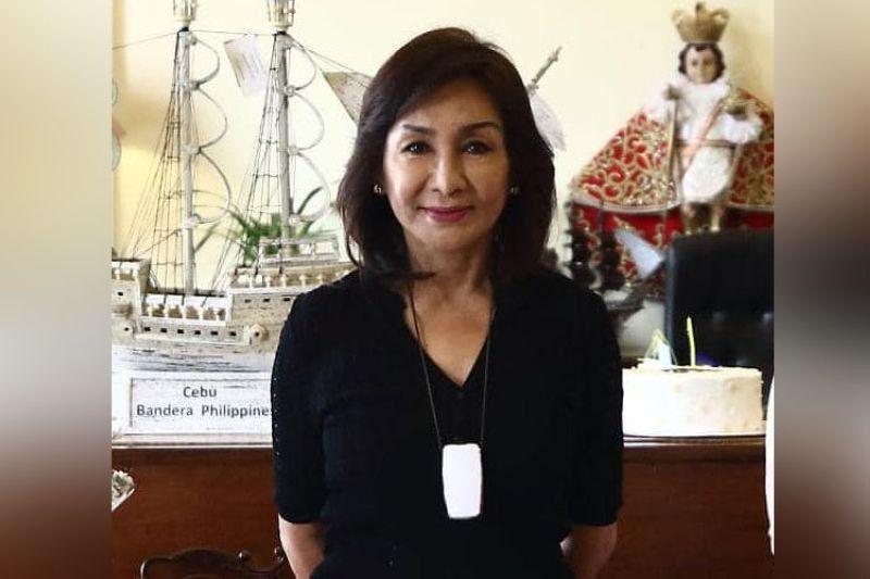 Cebu Governor Gwendolyn Garcia (File photo / Cebu Provincial Government's Facebook)