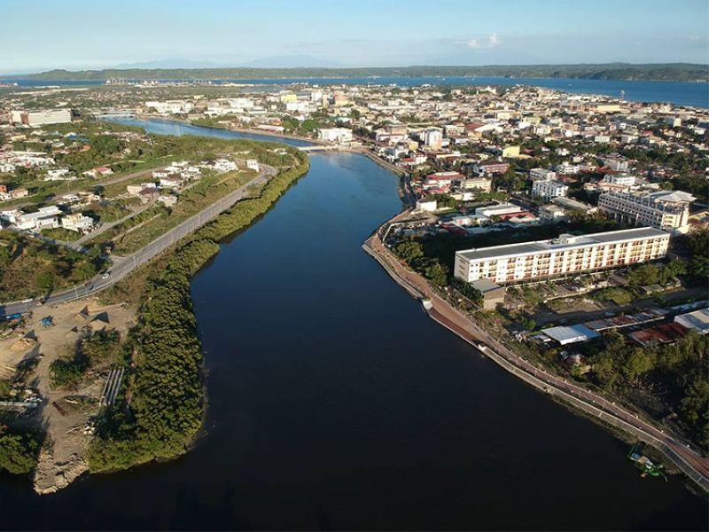 ILOILO. Aerial shot of Iloilo City (Leo Solinap)