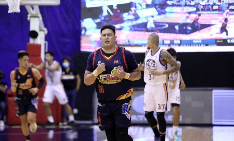 MANILA. Big man Beau Belga scored 17 points against NLEX in the 2021 PBA Philippine Cup on Friday. (PBA)