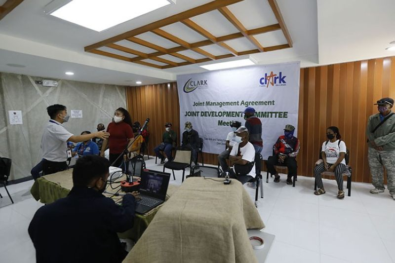 UPLIFTING IP COMMUNITIES. Tribal chieftains from nearby communities of Clark Freeport met with CDC President and CEO Manuel Gaerlan and representatives from National Commission on Indigenous Peoples-Central Luzon to discuss updates on CADT 025-A Indigenous Peoples Structure (IPS) and IP Organization formation. (CDC-CD)