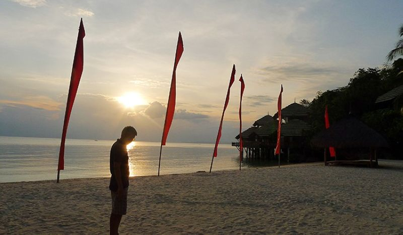 DAVAO. Catch sunsets at Pearl Farm Beach Resort. (Contributed photo)