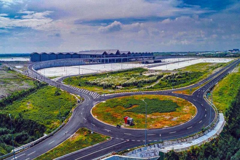 READY FOR THE WORLD. Clark International Airport's new passenger terminal building and complex. (DoTr)