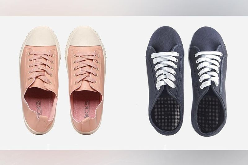 THE SM STORE. Kicks Women's Gene and Kara Lace-up Sneakers. (Contributed photo)